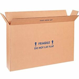 Boxes Fast Bf22616fpfol Flat Screen Tv Cardboard Moving And Shipping Box Fits