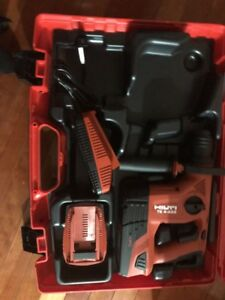 Hilti Te4 a22 Cpc 21 6 volt Cordless Rotary Drill W 2 Batteries And Charger New