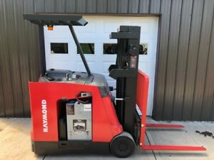 2005 Raymond Pacer Electric Forklift Model R40 4000lb Capacity