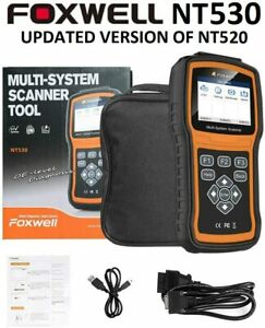 Foxwell Nt530 Pro Mercedes Benz Diagnostic Scanner Tool Airbag Abs Reset Nt510