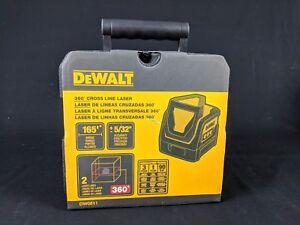 Dewalt Dw0811 Self leveling 360 Degree Line And Vertical Line Laser New