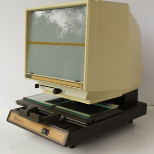 Anacomp Microphase Microfiche Dual Reader Model 750a Previously Owned