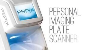 Acteon Setelec Pspix Phosphor Image Plate Scanner With 4 Phosphor Plates