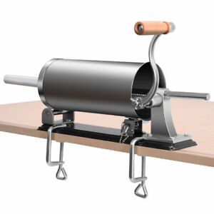 4 8l Sausage Stuffer Maker Meat Filler Machine Stainless Steel Commercial New
