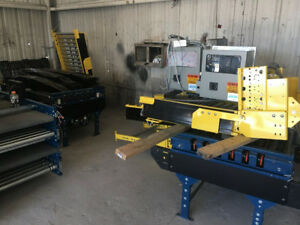 Hilmot Conveyor System With 170 Feet Of Conveyors