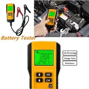 12v Automotive Car Vehicle Battery Tester Automotive Analyzer Digital Display Ss
