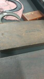 Brown And Sharpe 5 To 6 001 Model 69rs In Original Wooden Box Machinist Tool