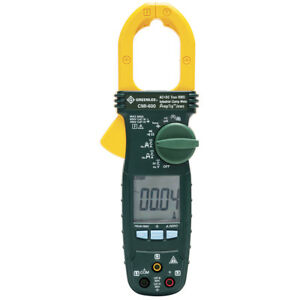 Greenlee Cmi 600 600 amp Durable Industrial Ac dc True Rms Clamp Meter