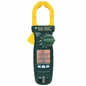 Greenlee Cm 960 600 amp Durable General Purpose Ac dc Clamp True Rms Meter