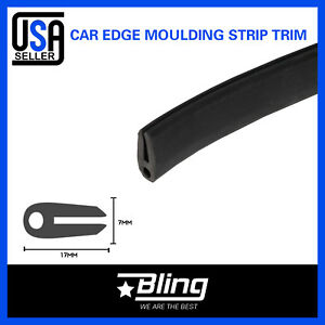 420inch Car Automotive Rubber Seal Edge Trim Door Protector Molding Soundproof