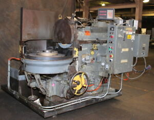 24 Chk 10hp Spdl Arter B 24 Rotary Surface Grinder Updated Trabon Auto Lube