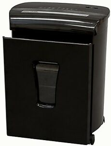 New Sentinel Fm101p 10 sheet High Security Micro cut Paper credit Card Shredder