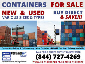 20 foot ft Standard Steel Cargo Intermodal Shipping Container St Louis