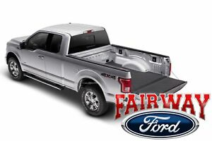 15 Thru 19 F 150 Oem Ford Padded Impact 3 4 Bed Mat Liner Covers Tail Gate 6 5