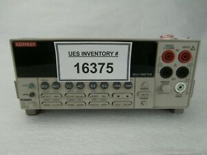 Keithley Instruments 2000 Benchtop Multimeter 2000 Series Used Working