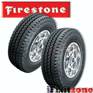 2 Firestone Transforce At 2 Lt265 75r16 123 120r Bw E Commercial Tires