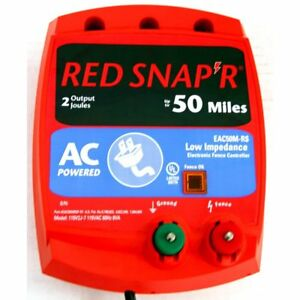 Red Snap r Eac50m rs 50 mile Ac Low Impedence Charger