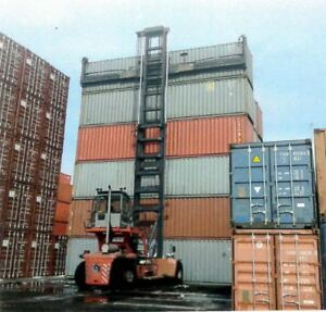 40 foot ft Standard Steel Cargo Intermodal Shipping Container Indianapolis