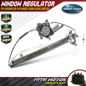 Window Regulator W Motor For 2005 2015 Nissan Frontier Xterra Suzuki Front Left