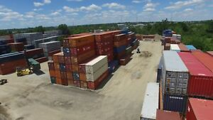40 foot ft Standard Steel Cargo Intermodal Shipping Container Cleveland Ohio