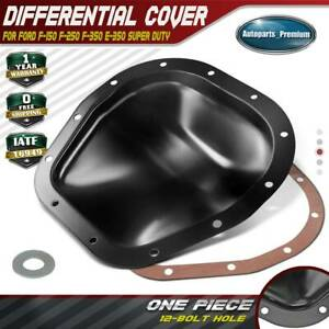 Rear Differential Cover W Gasket For Ford F 150 F 250 10 25 Ring Gear 697 704