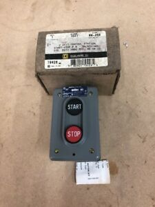 Square D 9001 bw255 Start stop Push Button Control Station Nema 4 New In Box