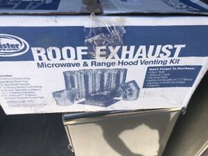 Master Flow Roof Exhaust Microwave And Range Hood Venting Kit Model L avr7