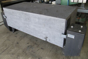 62 X 30 Granite Surface Plate Inspection Table 20 thick 30 high W Stand