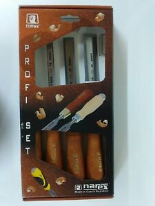 Narex Wood Line Plus Bevel Edge Chisel Set 6 12 20 26mm 863201 Nib