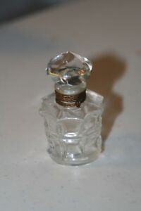 Vintage Marquay L Elu Collectible Perfume Bottle Empty Rare