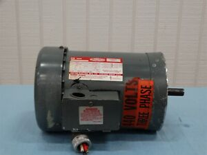 Dayton 3n087g Electric Motor 1hp 1725 1425rpm 230 460v 60 50hz 3ph