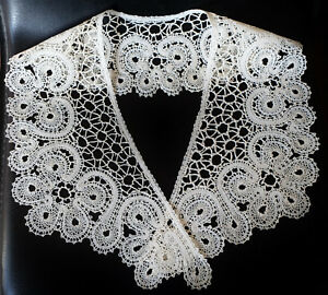 New Bobbin Lace Collar Handmade Lace Russian Vologda Style