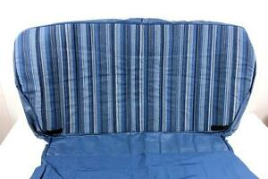 Nissan Mq 160 Patrol 1979 Hardtop Rear Seat Cushion Blue Replacement Cover Nos