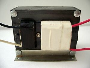 2 Lot Mccarron M 5312 3300vac 3 3kv Core And Coil High Voltage Neon Transformer