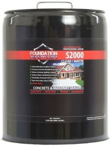 Foundation Armor 5 Gal Concentrated Sodium Silicate Concrete Sealer Densifier