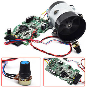 Car Electric Turbine Power Turbo Charger Boost Air Intake Fan With Esc
