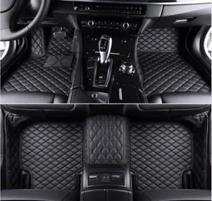 For Ford Mustang 2011 2018 Car Floor Mats Front Rear Liner Waterproof Auto Mat