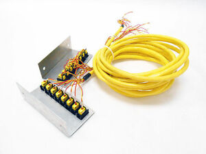 Omega Type Kx Cables With 16 K connector Thermocouples Ch Al Thermocouple