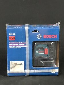 Bosch Gpl5r 5 point Self leveling Alignment Laser Free Shipping