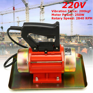 Concrete Vibrator Table Motor Vibrating 220v 200kgf Motion Construction 2840 Rpm