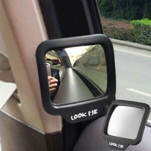 Car Blind Spot Mirror 270 Adjustable Convex Wide Angle Car Rear Seat Safety
