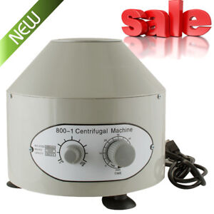 Sale Electric Centrifuge Machine Lab Medical Practice 4000rpm W 6x 20ml Rotor