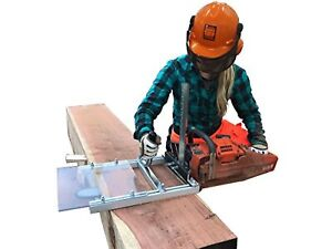 Portable Chain Saw Mill Bar Lumber Cutting Milling Planking Lightweight Timber