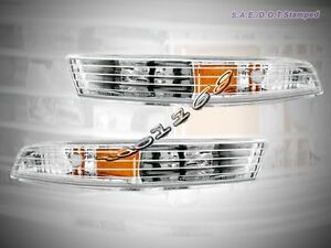 Fit For 94 97 Acura Integra Front Bumper Lights Clear 95 96 New