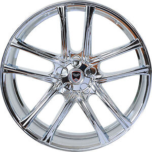 4 Gwg Wheels 18 Inch Chrome Zero Rims Fits Cadillac Seville 2000 2004