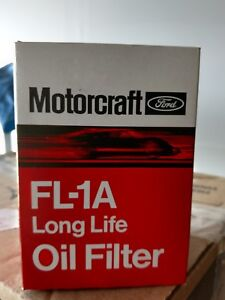 Vintage Ford Oil Filter Fl A1 With Raised Motorcraft Letters