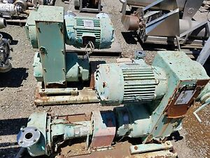Wemco Torque Flow Centrifugal 316 Stainless Steel Pump 90 115 Gpm