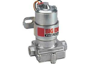 Big End Products 10150 Holley Red Electric Fuel Pump 95gph Street 7psi