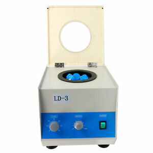 Usa Ld 3 Electric Benchtop Centrifuge Lab Medical Practice 4000rpm 6 50ml