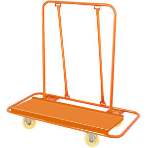 Drywall Cart Dolly Handling Sheetrock Panel Tool Truck Casters Panel Service